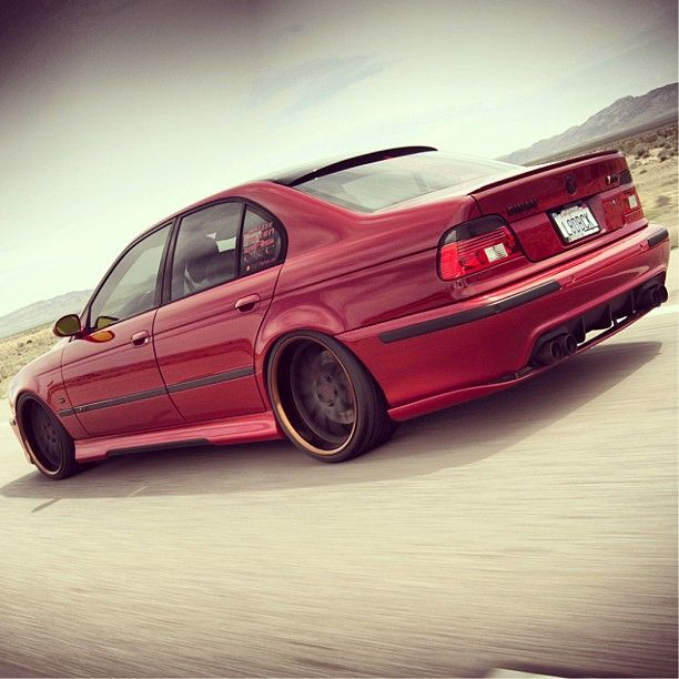 BMW M5 E39 - To me, an M5 is the perfect car: very fast, handles great, and can haul 4 people + luggage...