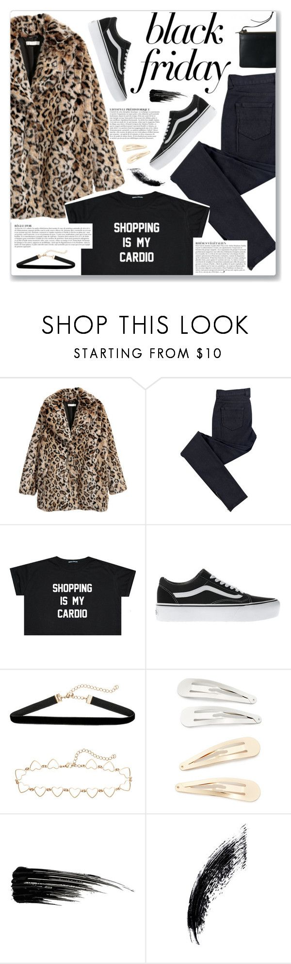 """Steal Those Deals: Black Friday"" by myduza-and-koteczka ❤ liked on Polyvore featuring C.R.A.F.T., Anja, Vans, Kitsch and Urban Decay"