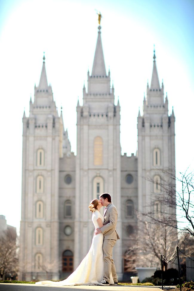 Non Traditional Mormon Wedding in Salt Lake City. http://fabyoubliss.com