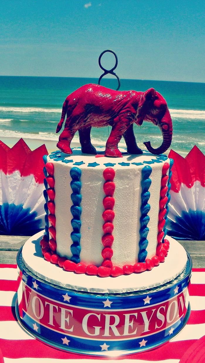 Greyson for President Birthday Party via Kara's Party Ideas | Kara'sPartyIdeas.com #president #party #election #idea (28)