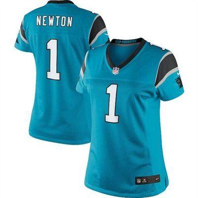 Carolina Panthers Cam Newton Nike Womens Football Jersey