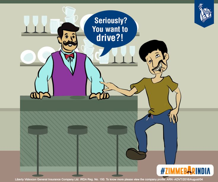 The bartender discourages drinking and driving and hails a cab for his customer. #ZimmedarIndia