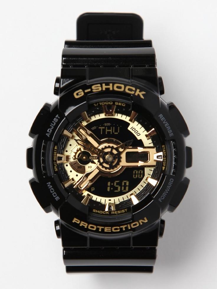 CASIO G-SHOCK HYPER COMPLEX GA-110GB-AER: Digital Watch, Ga110Gb1Aer Watches, Casio G Shock, Casio Gshock, Gshock Hyper, G Shock Hyper, Complex Ga 110Gb 1Aer, Hyper Complex, Gold Gshock