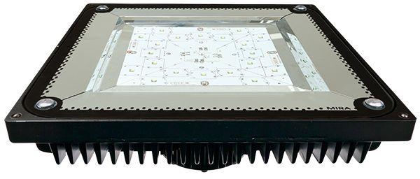 NYXX MIRA / KANOPİ AYDINLATMA  Mira istasyonda bulunan akaryakıt pompalarının bulunduğu kanopi altı bölgesini aydınlatmak amacıyla tasarlanmıştır. Yüksek enerji verimliliğine ve uzun ömre sahiptir. NYXX MIRA, emsallerine göre %50 düşük güç tüketimi ve son derece uzun ömrü ile konvansiyonel dış ortam aydınlatma armatürlerine alternatif olarak üretilen LED projektördür.