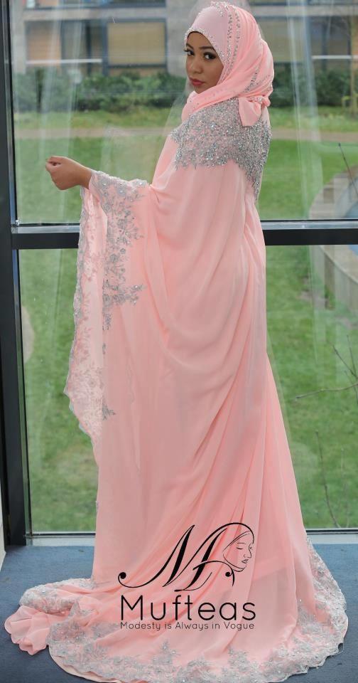 Beautiful dress and modest!
