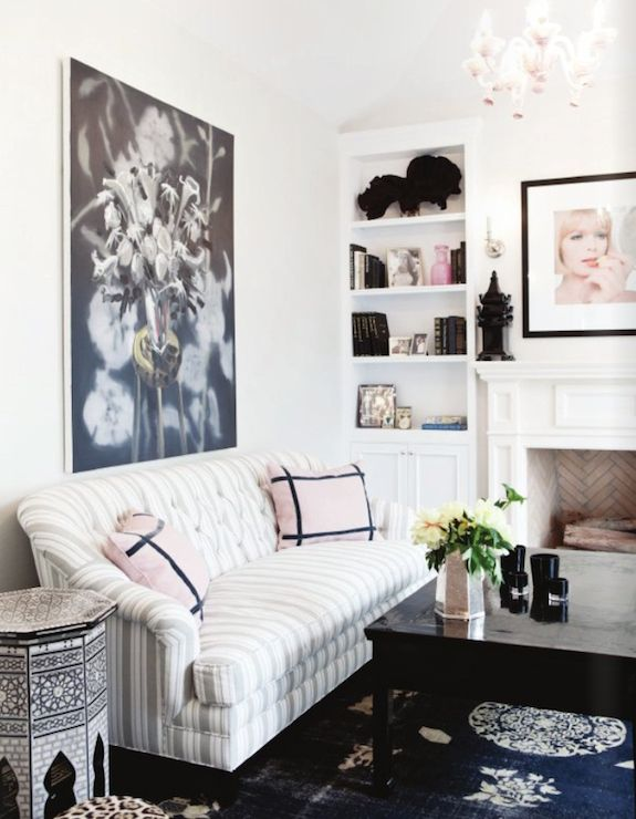 Pretty Living Room Windsor Smith Home