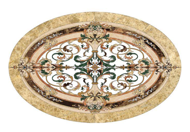 Tranh hoa văn đá tầng 2/ 20 Cát Linh - Đống Đa - Hà Nội showroom Hùng Túy ( PICENZA )
