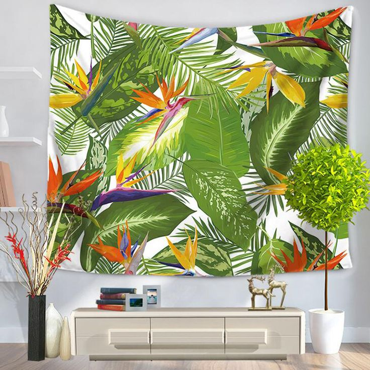 Wall Tapestry Banana Leaves Tropical 100% of buyers enjoyed this product!~ TapestryCorner #bedroom #livingroom #diy #handmade #best #modern #design #bohemian #beautiful #wallhanging #Colorful #tapestry #textileart #walldecoration #hippie #inspiration #decorative #interior #off #usa #flooring #office #home #decoration