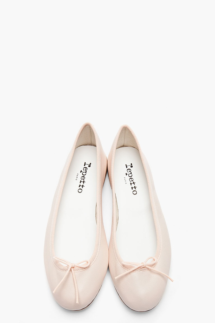 repetto | pale pink cendrillon flats $275