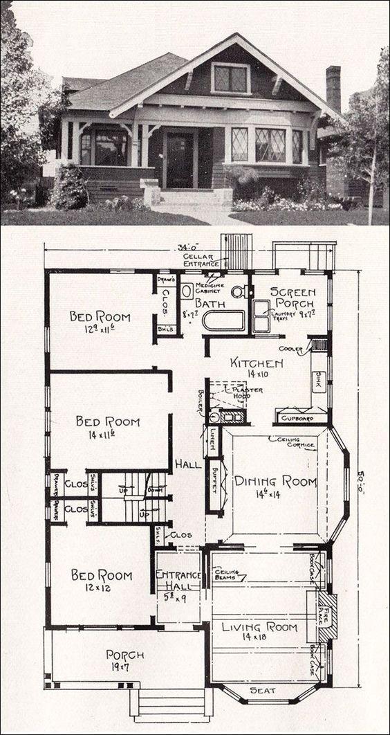 Best 25+ Bungalow floor plans ideas only on Pinterest