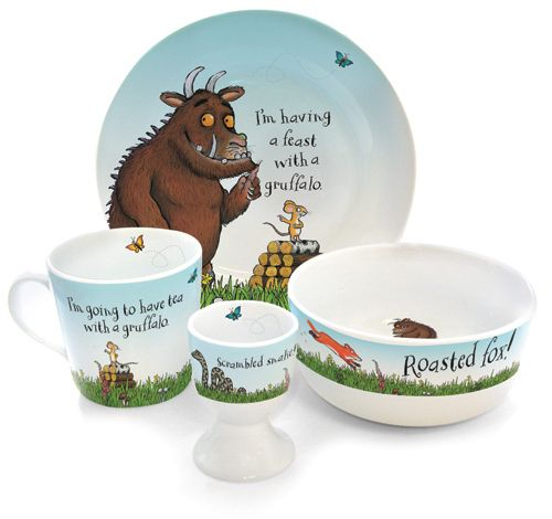The Gruffalo Breakfast Set