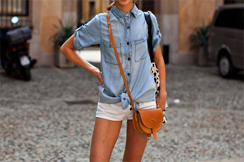 +: Fashion Sen, Creative Style, Women Fashion, Denim Combinations, Denim Shirts, Fashion Craze, Fashion Belts, Denim Fashion Outfit, Closet