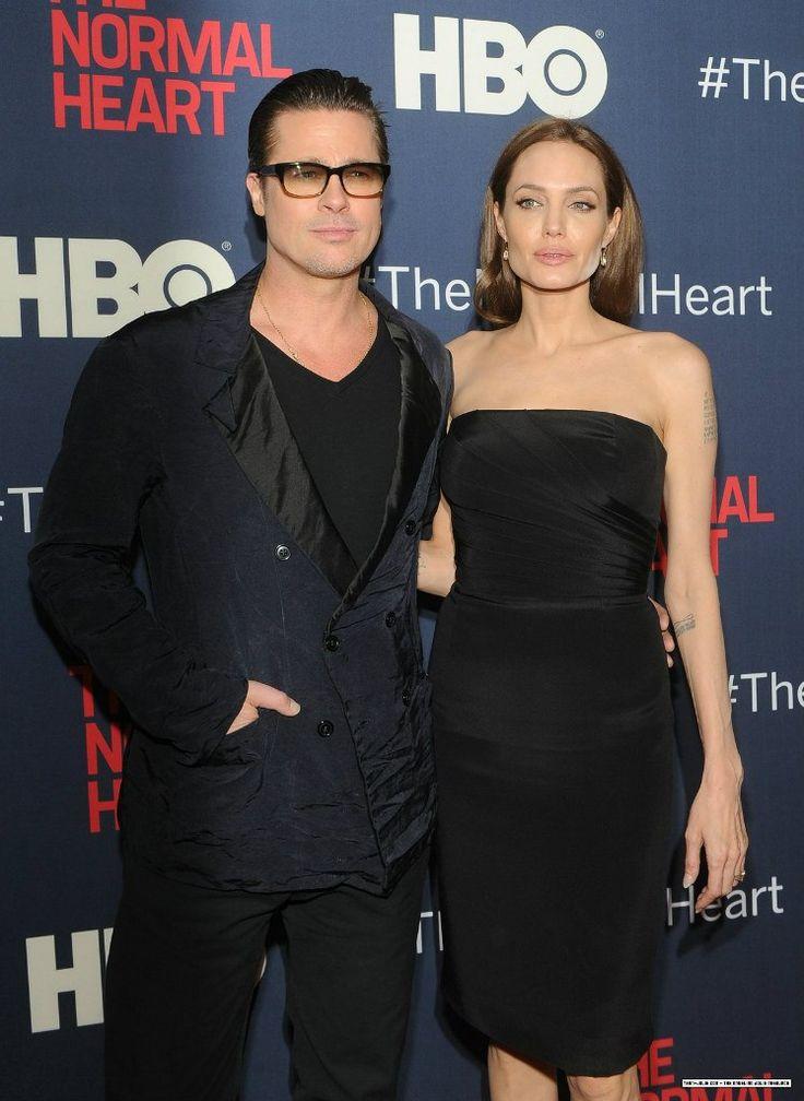 прямой силуэт Angelina Jolie
