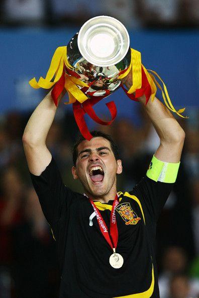 Iker Casillas - Germany v Spain - UEFA EURO 2008 Final