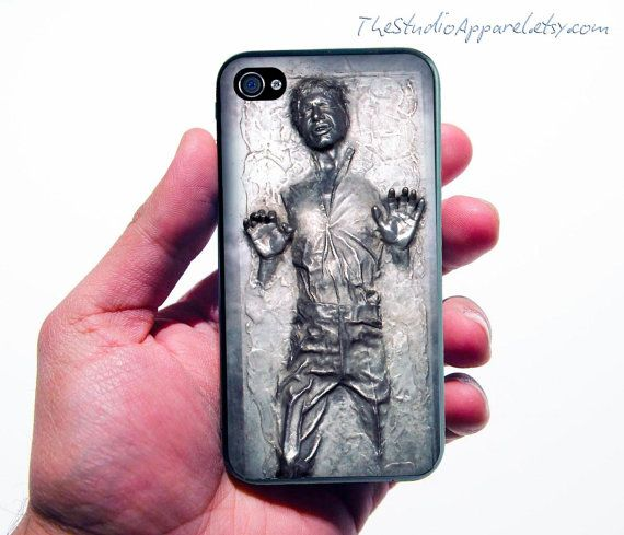 not a room item, but still a fun thing for Star Wars lovin' iPhone users.Iphone Cases, Iphone 4S, Solo Iphone, Phones Covers, Gift Cards, Stars Wars, Phones Cases, Iphone 4 Cases, Hans Solo