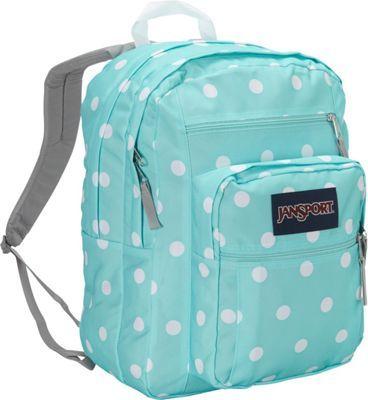 JanSport Big Student Backpack Aqua Dash Spots - via eBags.com!