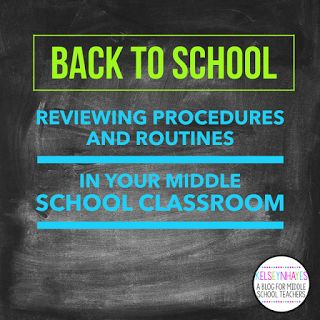 Hey, y'all! I'm back today for post #2 of the Back to School series, this time about Reviewing (or setting up, if you're a new...