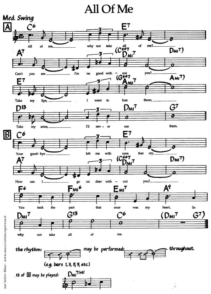 All Of Me Jazz Sheets In 2019 Sheet Music Music Sing