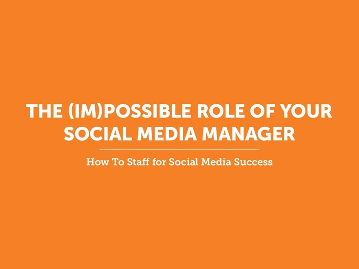 Your social media team is falling short -- and it's not their fault. It's time to reevaluate your business objectives and SPARK across departments. Learn how to create a Social Media Forum that staffs for success.
