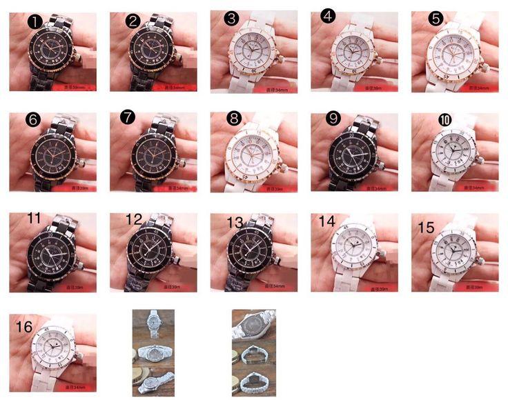 時計上質な人気商品CHANELシャネル男性用、女性用J12シリーズ Ceramic オートマチック : ブランド バッグ 。パーソナルオーダーバッグ。HERMES、CHANEL