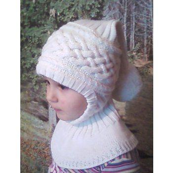 шапочка-шлем. комплект и шапочка для девочки 4 лет