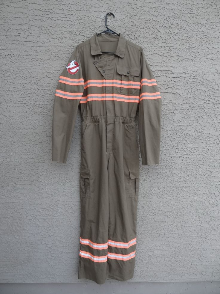 The new Ghostbusters costume   Organic ripstop cotton fabric, all handmade, including trim and patch.