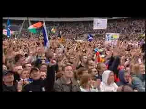 The Proclaimers 500 Miles (live from Edinburgh, Scotland I could listen to this 500 times.