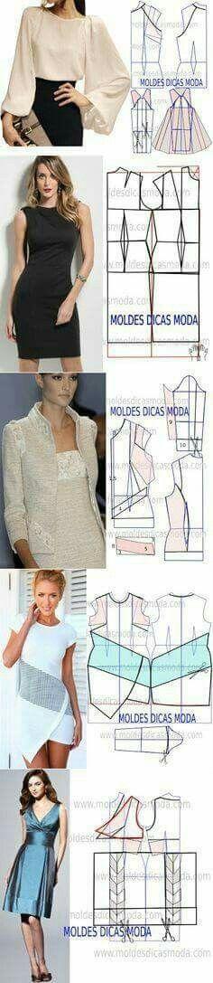 Top & dress patterns