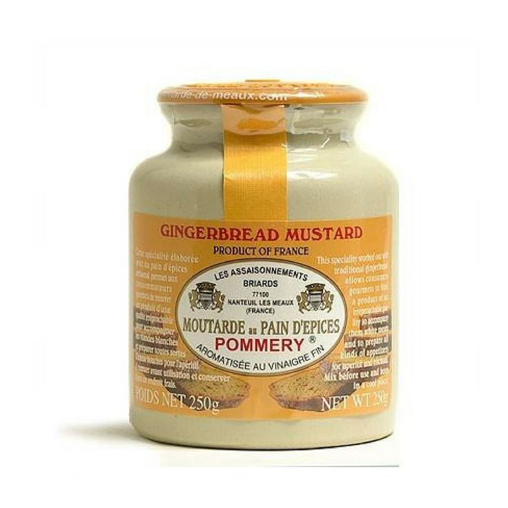 Pommery · Gingerbread mustard · 250g (8.8 oz)  #FrenchFood #TOPCHEFS #FrenchCuisine #LeTablierbleu