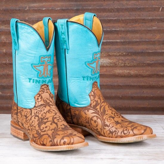 Tin Haul Ladies' Damask Boots
