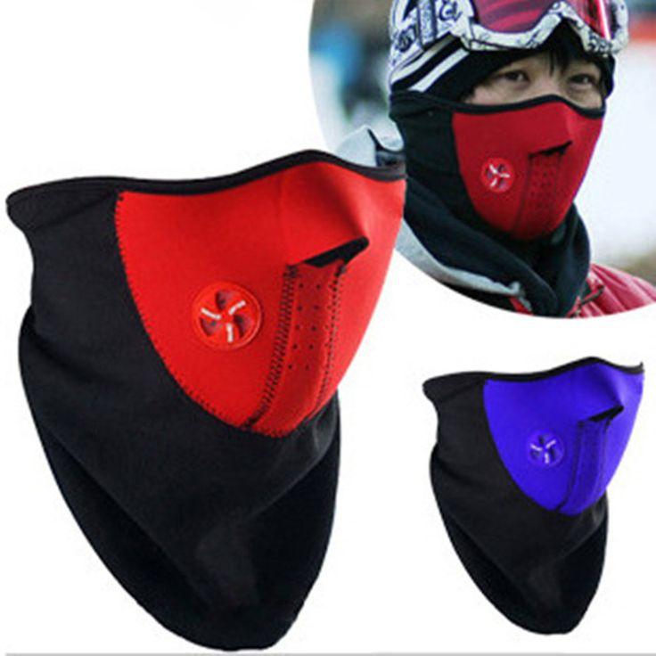 חורף אופנה פנים פה מסכת אבק מסיכת הפנים Windproof צוואר משמר חם עבור גברים ונשים אופניים הגנת/סנובורד 3 צבעים