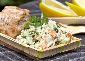 Krabbesalat (erstat med surimi)