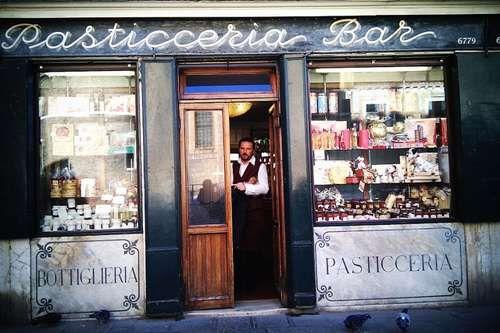 Breakfast in Venice - Pasticceria Rosa Salva