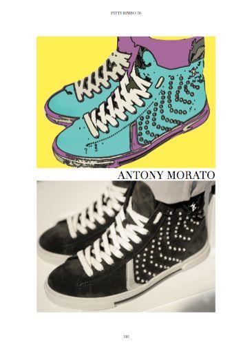 Pitti Bimbo 76 Fair - Focus on Sneakers by the way. Antony Morato. #shoes #childrenshoes #antonymorato