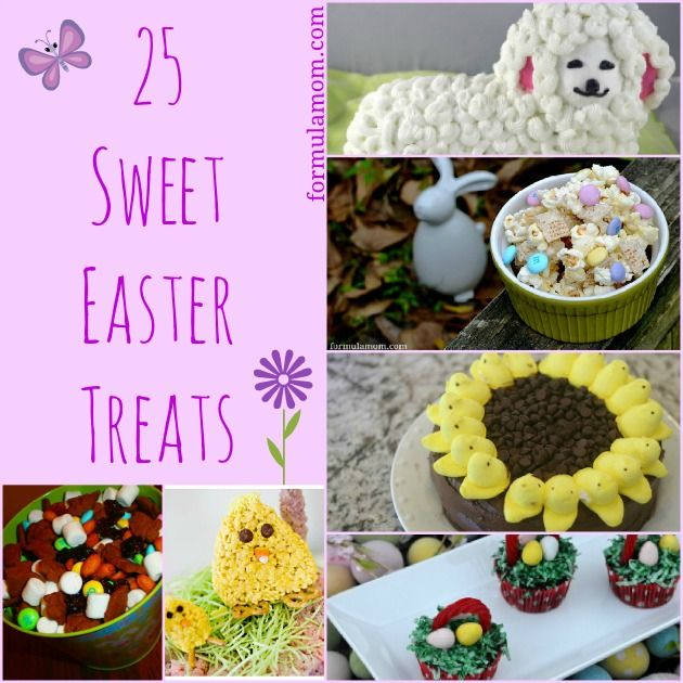 25 Sweet Easter Treats for Kids