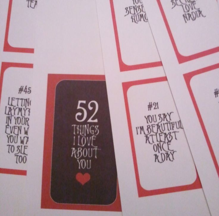 25 unika 52 reasons id er p pinterest g r det sj lv for 52 reasons why i love you cards templates free