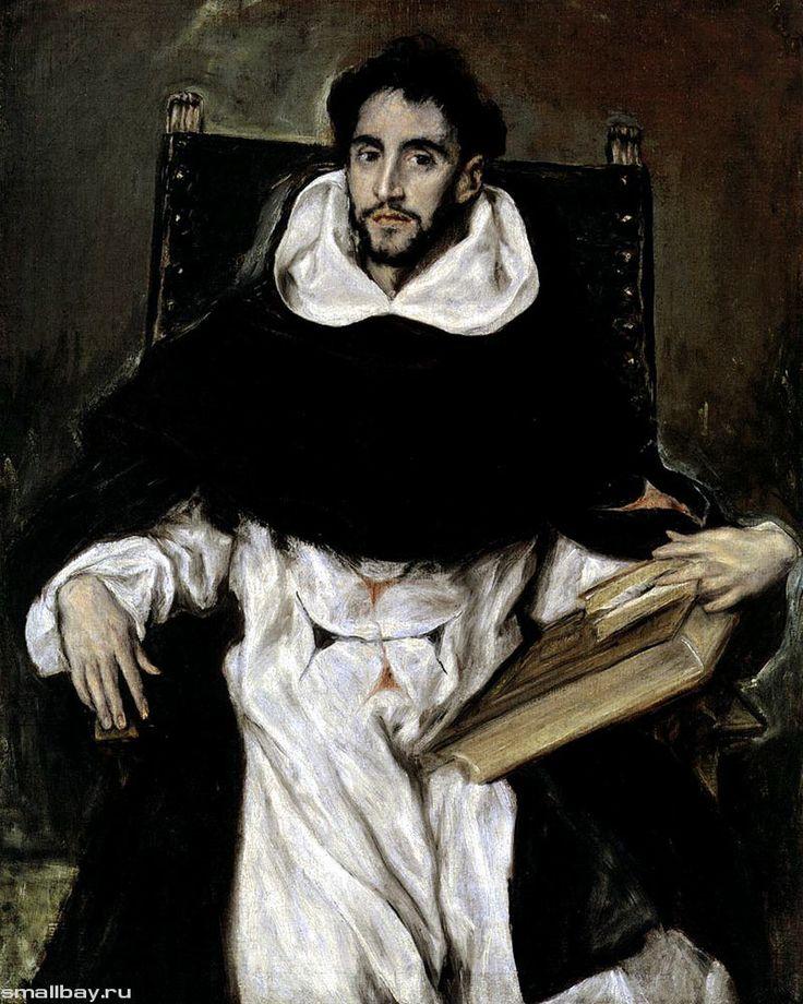Эль Греко Портрет монаха Ортенсио Парависино