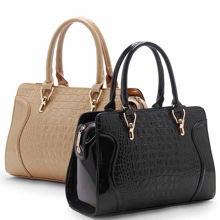 Dresswe.comサプライ品新着 ファッション クロコデザイン レディースハンドバッグ ハンドバッグ