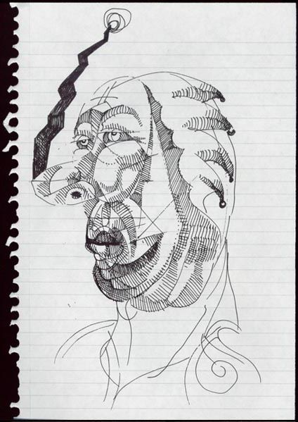 Face Sketch by Jeremiah Kauffman