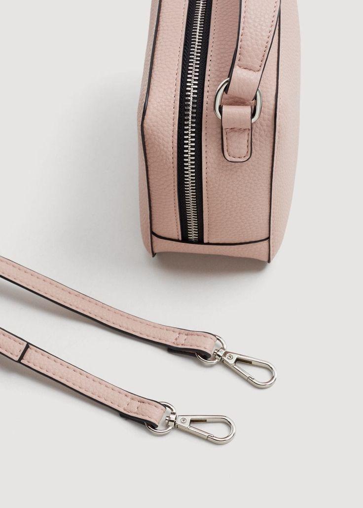 Mini cross-body bag | MANGO  Colour:Nude  Composition:100% polyurethane  #bag #nude #mango #spain #fashion #inspiration #spring #summer #accessories #style #beauty