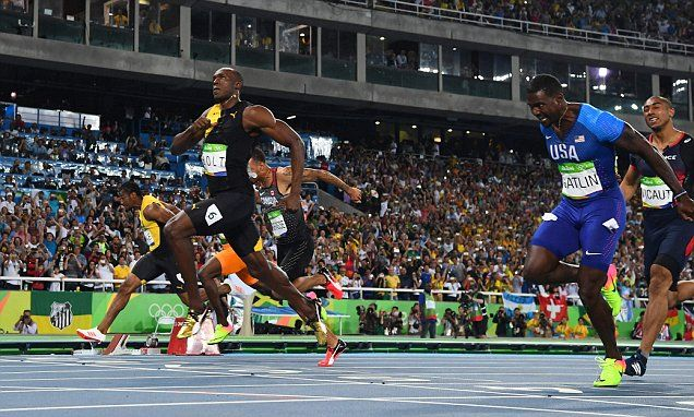 Bolt wins third consecutive Olympic 100m gold medal at Rio ...