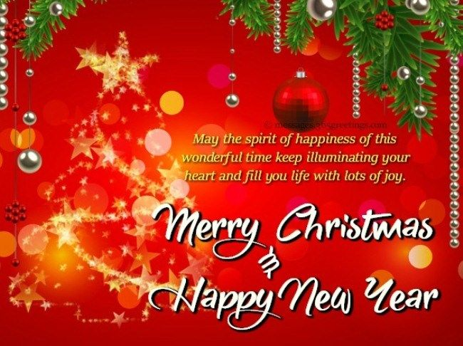 Christmas And Happy New Year Greetings 2019 Happynewyear2019greetings Happynewyear2019w Merry Christmas Wishes Text New Year Greetings Merry Christmas Wishes