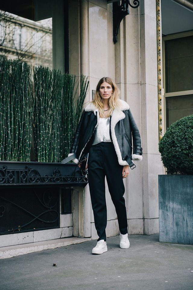 Неделя моды в Париже, осень-зима 2016: street style. Часть 3 (фото 4)