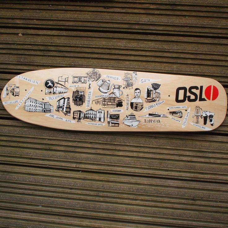 Kaffikaze Oslo Skateboard deck