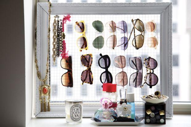 Organized sunnies.