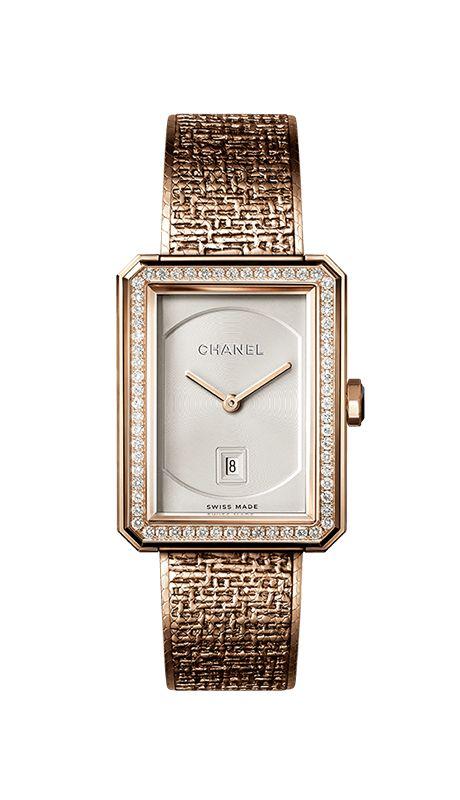 In occasione del Salone Mondiale dell'Orologeria, CHANEL presenta i nuovi segnatempo e le creazioni d'eccezione: l'orologio Monsieur de CHANEL, l'orologio Mademoiselle Privé decoro Aubazine e la pendulette Mademoiselle Privé Coromandel.