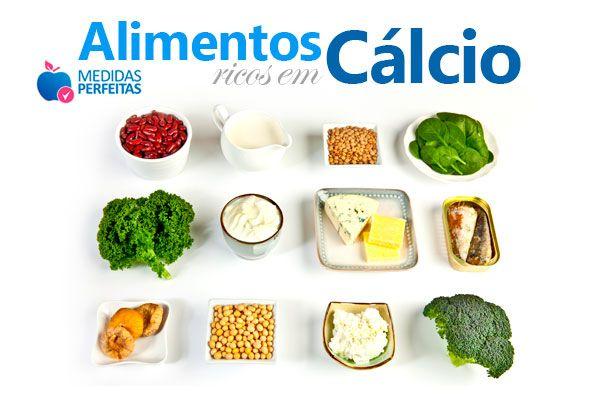 Lista com os Alimentos Ricos em Cálcio