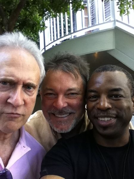 Star Trek:Next Generation's - Data, Riker and Geordi  :)