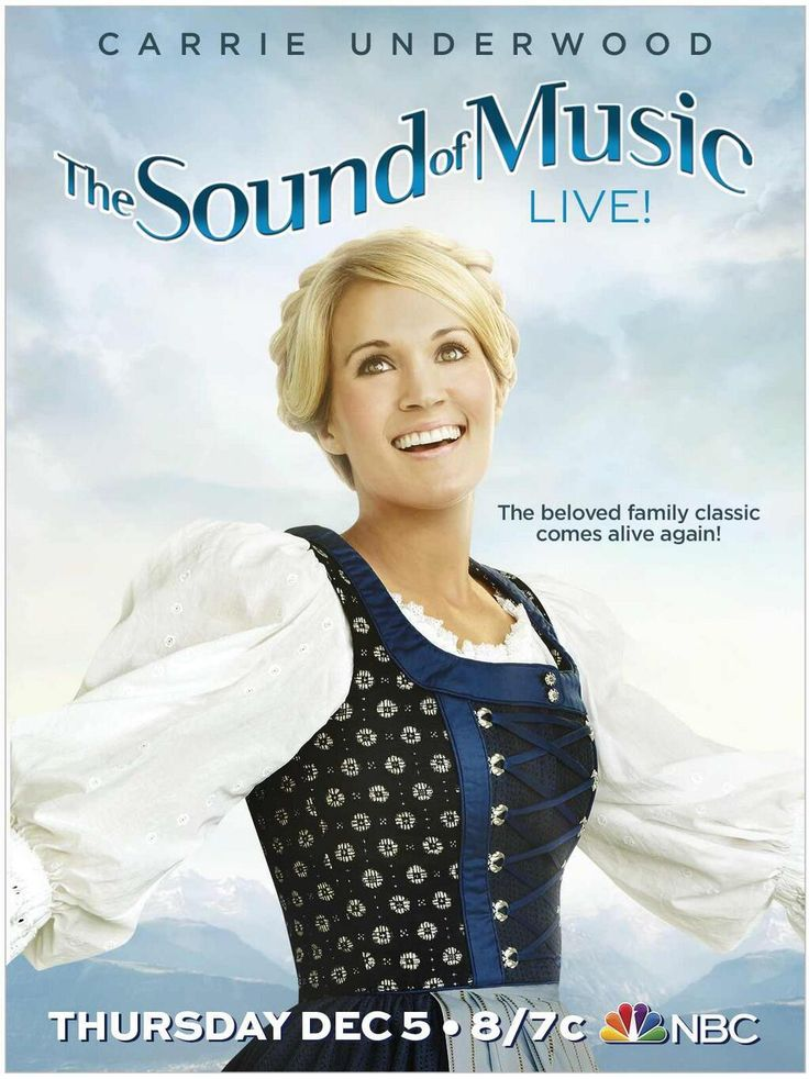 First Look At Carrie Underwood In NBC's THE SOUND OF MUSIC