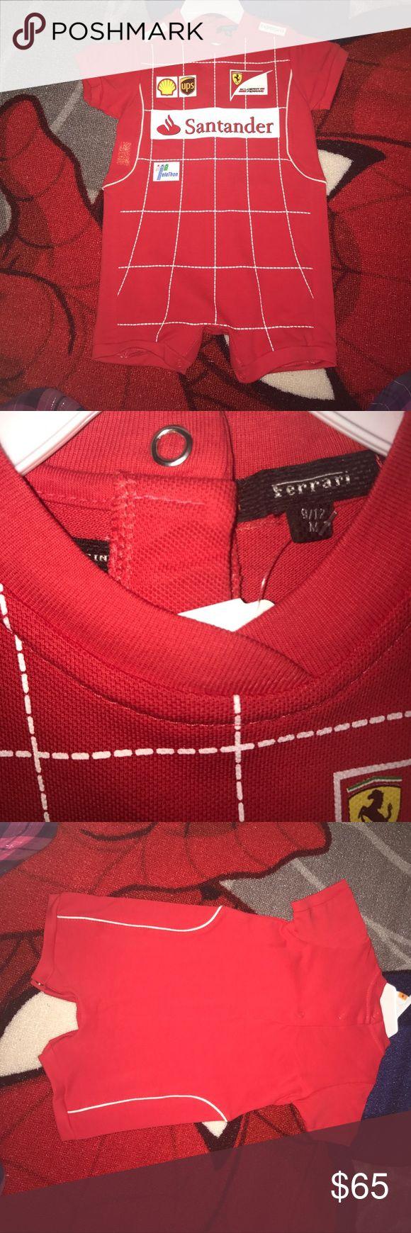 ❤️Baby Boy Ferrari Romper 9-12M❤️ Brand new baby boy ferrari romper 9-12M. Feel free to ask any questions or make an offer! Ferrari One Pieces
